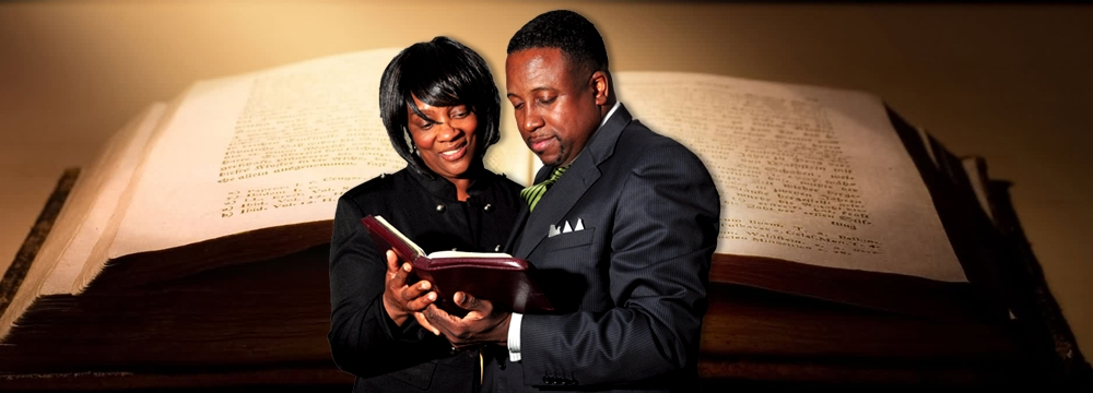 Meet Our Pastor And First Lady! We welcome you to our family. let us worship and grow together!